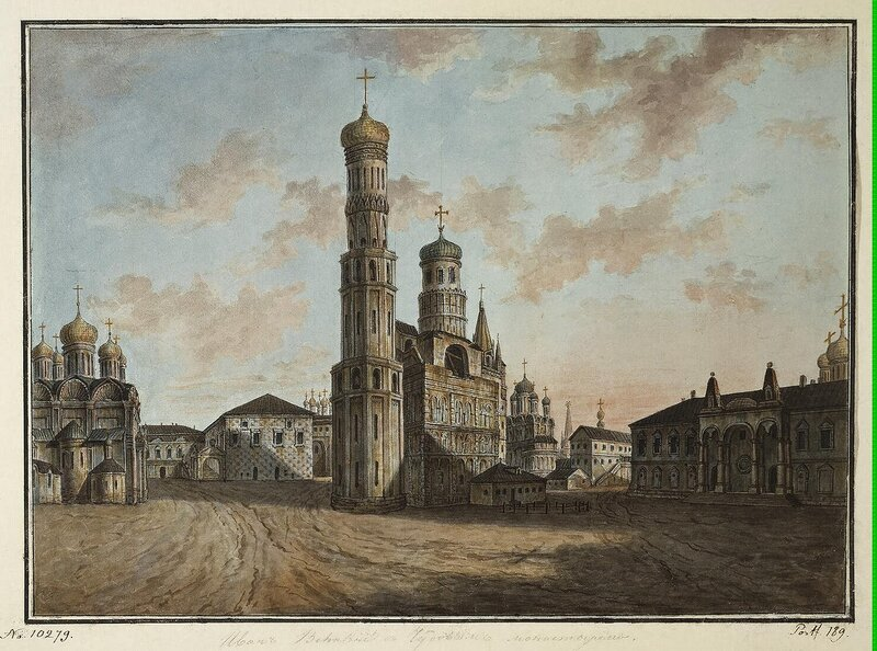Alexeyev Fiodor - Bell-Tower of Ivan the Great - JRR-6522