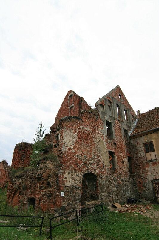 Инстербург. Руины Цидатели