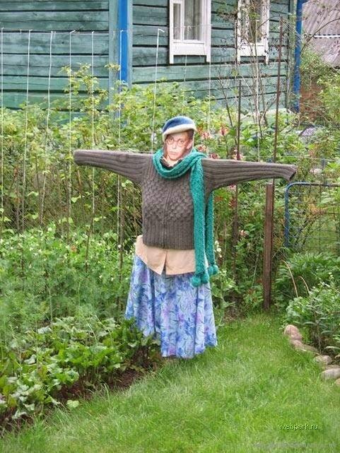 Садовые приколы фото своими руками
