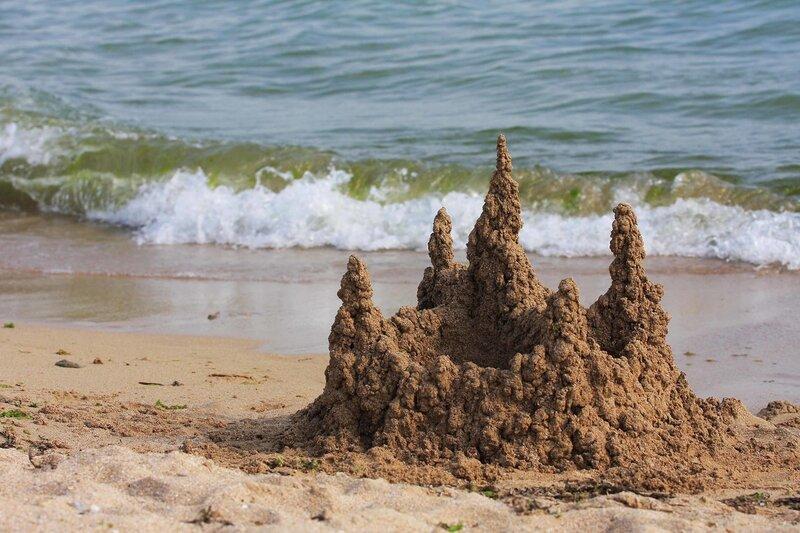 знакомства замок из песка