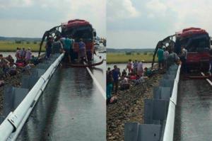 В Хабаровском крае столкнулись автобусы – 16 человек погибло