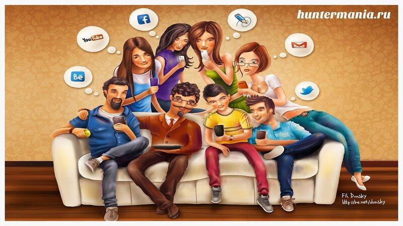 7 смертных грехов социальных сетей