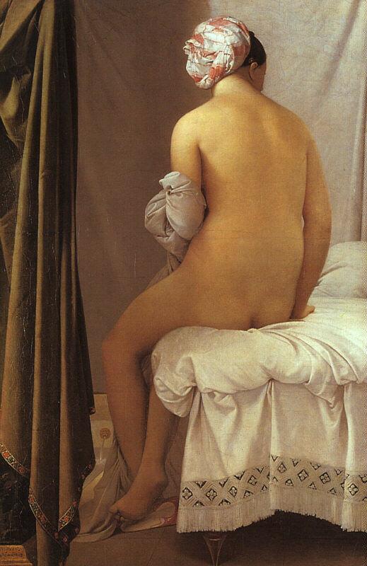 Жан-Огюст-Доминик ЭнгрБольшая купальщица  [1808]Лувр, Париж.