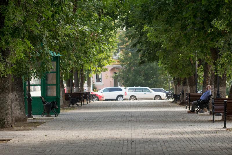 Бульвар Радищева в Твери