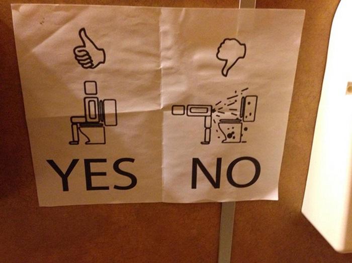 Инструкция как пользоваться туалетом