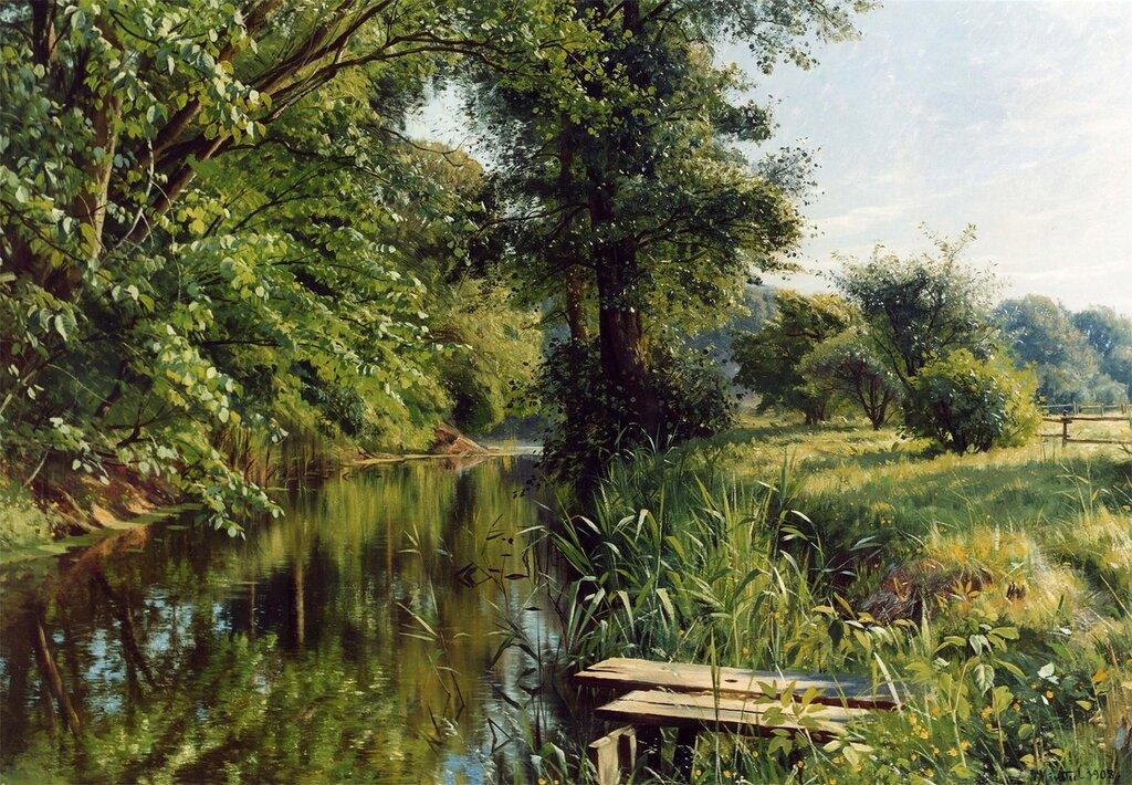 Peder Mork Monsted - Reflections of Spring - 12174-2426.jpg