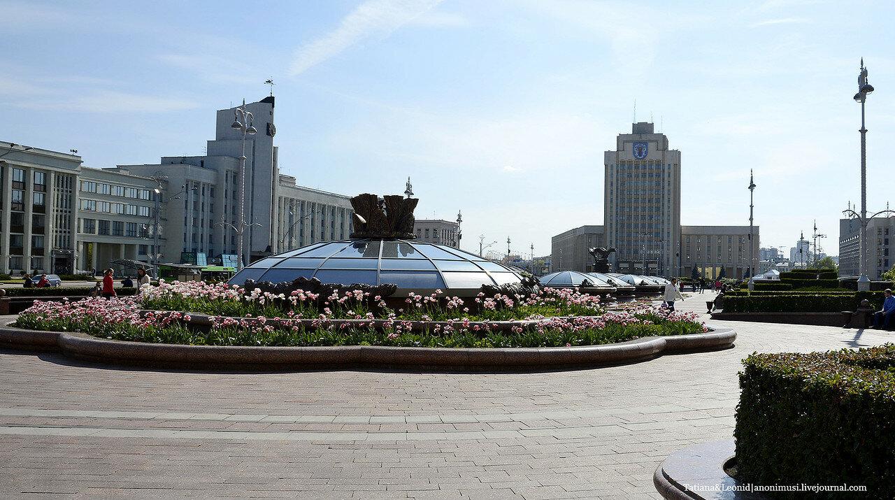 Площадь Независимости. Минск