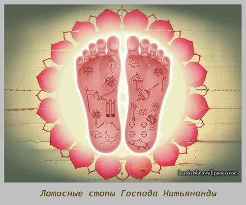Sri Nityananda Lotus Feet