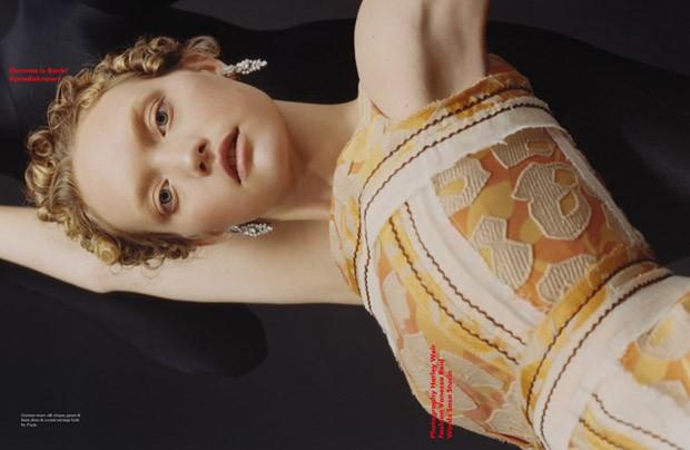 Джемма Уорд (Gemma Ward) в журнале pop