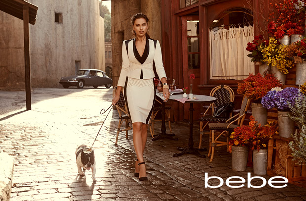Марина Линчук (Maryna Linchuk) и Ирина Шейк (Irina Shayk) в рекламной фотосессии для BEBE