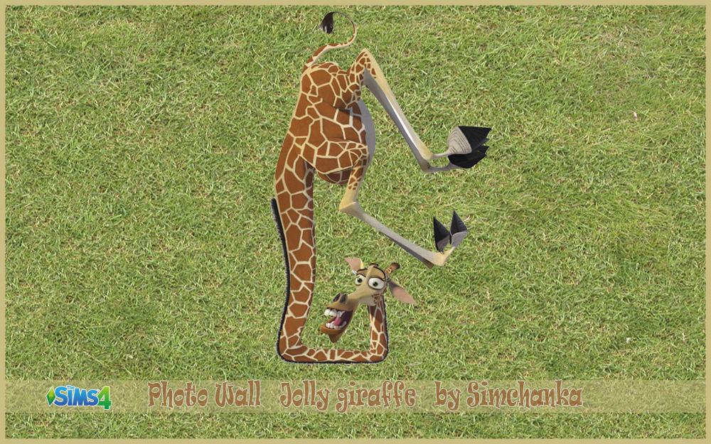 Photo Wall Jolly giraffe by Simchanka
