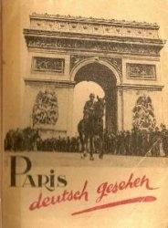 Книга Paris deutsch gesehen