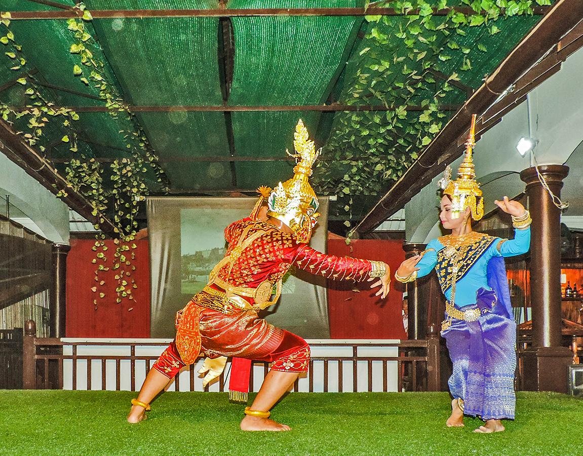 Танцы кхмеров