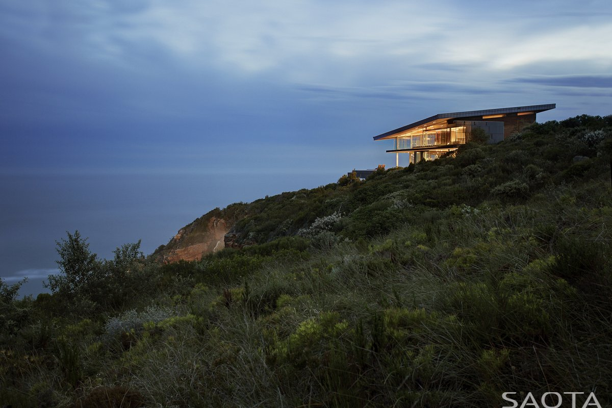 SAOTA, Cove 3, дома в ЮАР, проекты SAOTA, дом в городе Книсна, самые роскошные дома в мире, дома на горе, особняк с видом на океан, дом на берегу океана