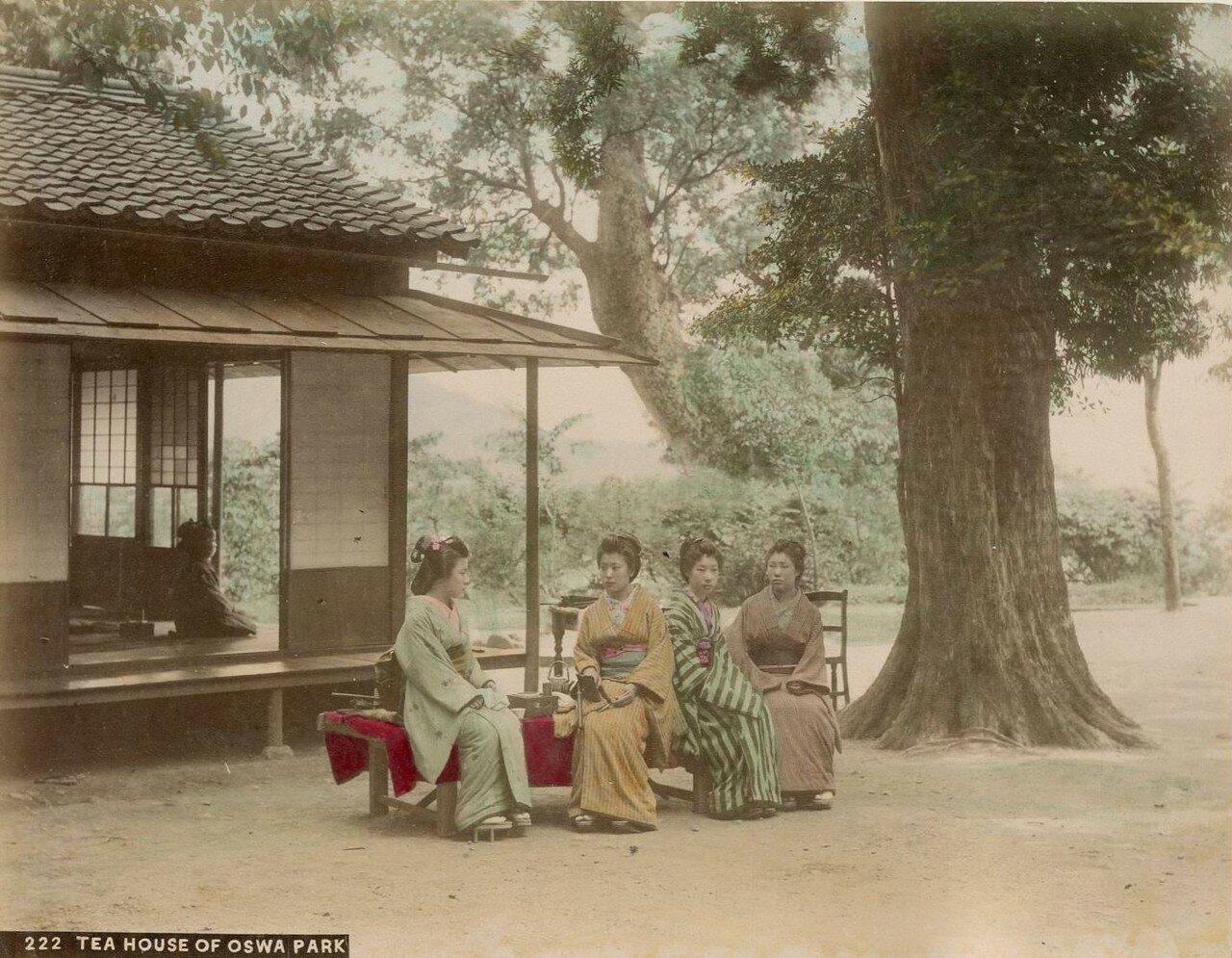 Нагасаки. Парк Осва. Чайный домик