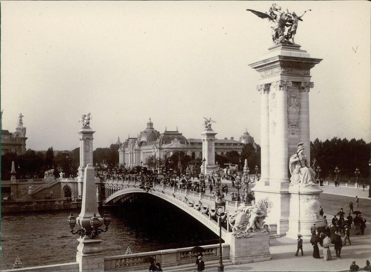 Большой Дворец и мост Александра III