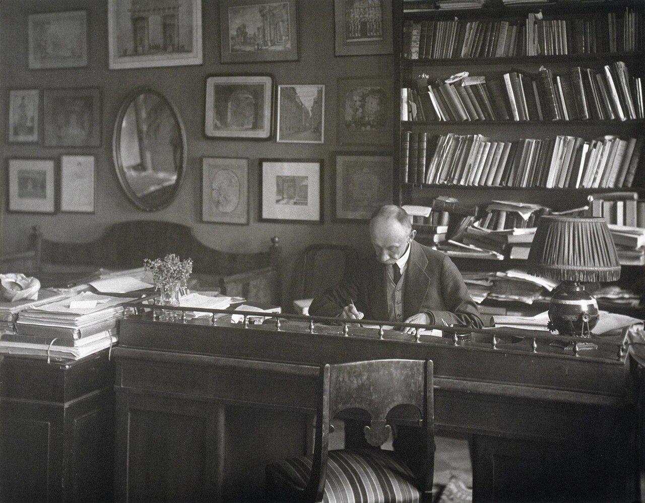 Портрет Анатолия Федоровича Кони. 1921