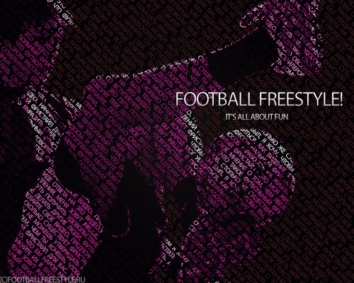 football freestyle it's all about fun