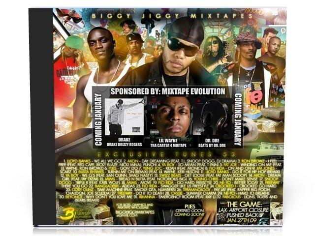Biggy Jiggy Mixtapes - Exclusive Tunes 53 ( 2008 )