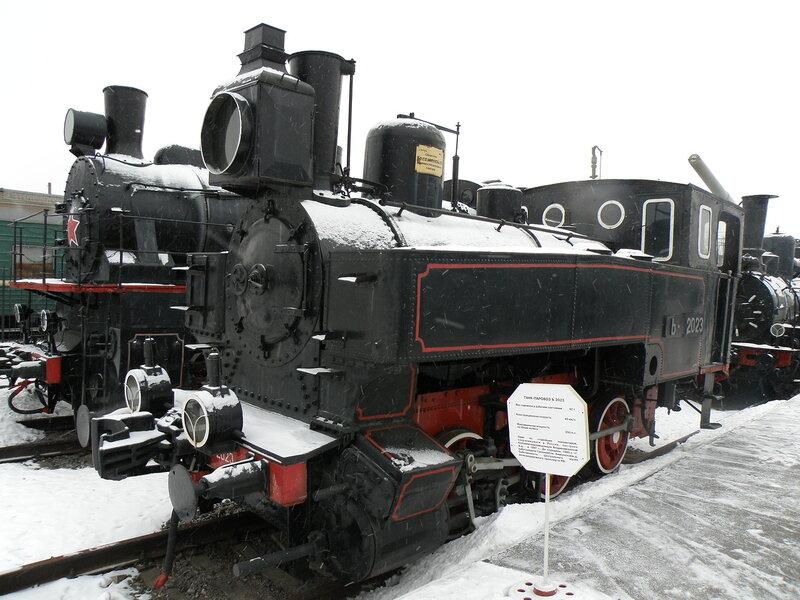 Танк-паровоз Ь 2023
