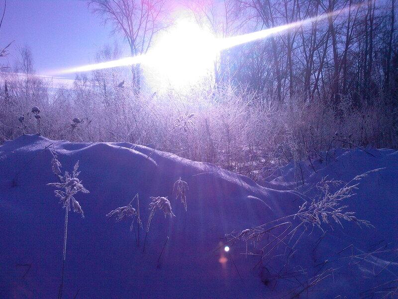 мороз, солнце