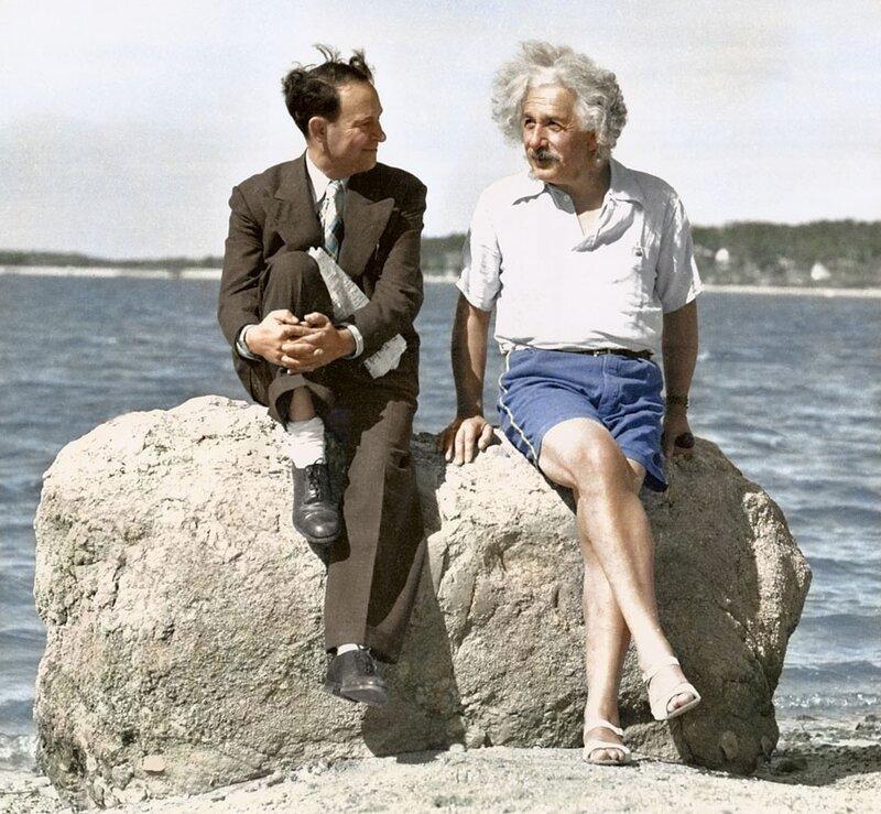 Альберт Эйнштейн, 1939 год, Лонг Айленд, Нью-Йорк © Edvos