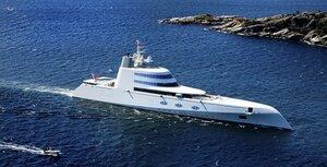 Крупнейшая в мире яхта миллиардера из России спущена на воду