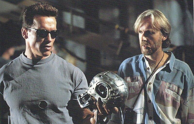 Быть или не быть Шварценеггер и Камерон на съемках Терминатора.jpg