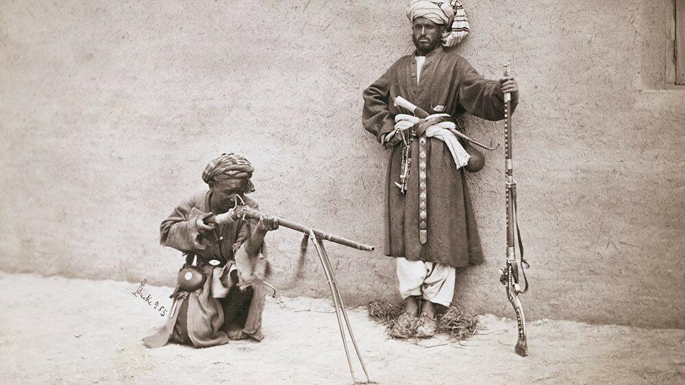 Вторая афганская война, около 1880 г..jpg