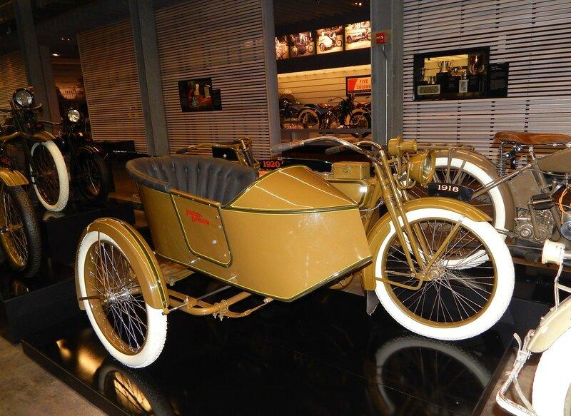 Музей Harley Davidson.