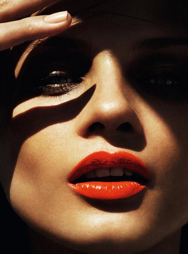 Анна Селезнева (Anna Selezneva) в журнале Harper's Bazaar Germany (5 фото)