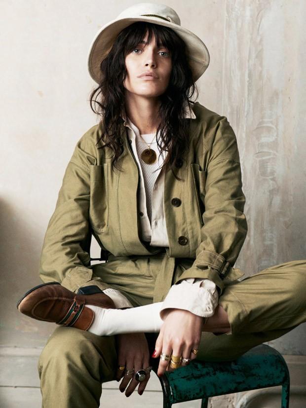 Аманда Уэллш (Amanda Wellsh) в журнале Vogue Paris (10 фото)