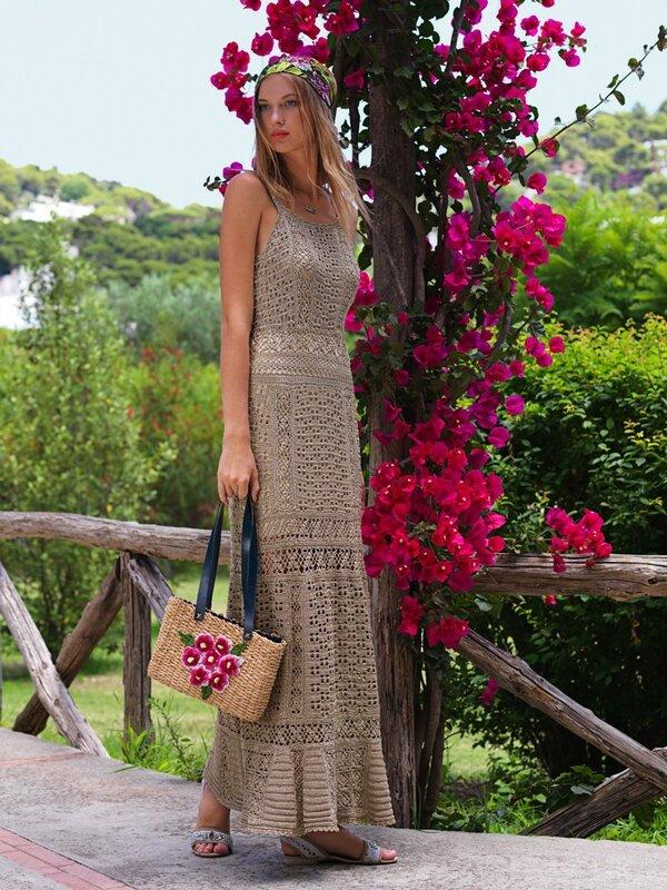 Возьмите на заметку-вязаные платья на лето! Шикарно! Villa Capri.jpg