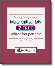 Книга Make Knitted Hats: 7 Free Knitted Hat Patterns