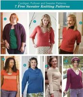 Журнал Cardigan, Pullover and Sweater Patterns jpg 51Мб