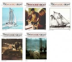 Журнал WoodenBoat Magazine Full Year Collection No 1-5 1975