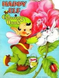 Книга Coloring Book Happy Elf