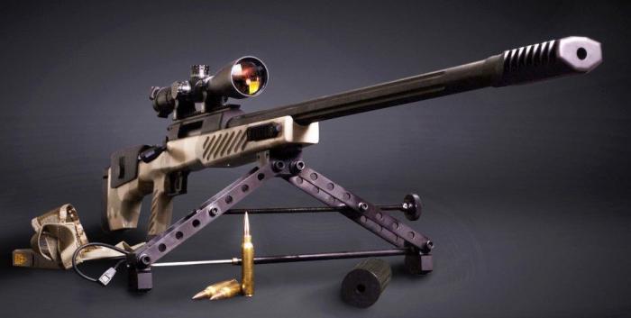 Сверхдальнобойная снайперская винтовка СВЛК-14С