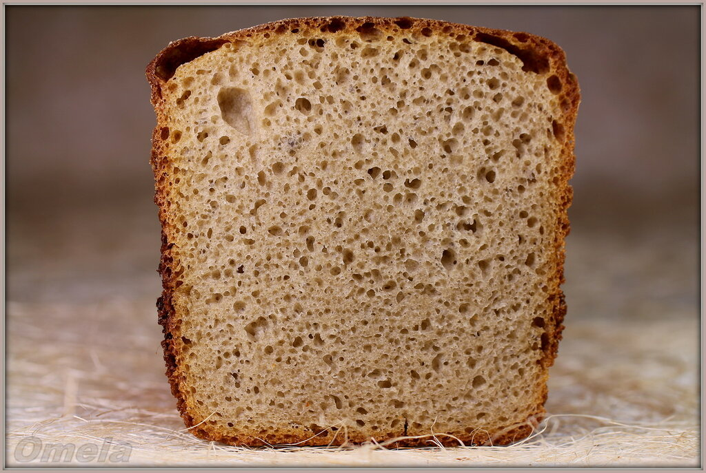 Яблочный хлеб на хмелевой закваске
