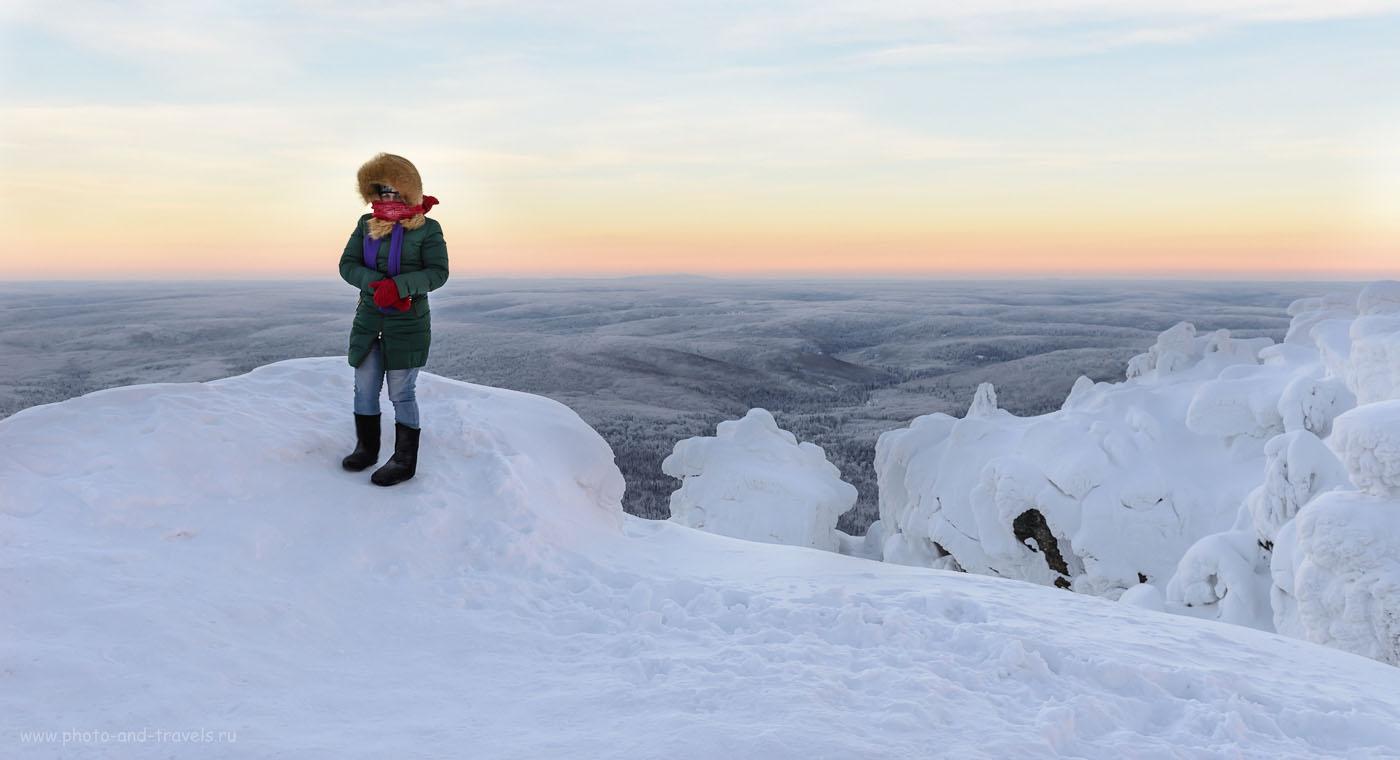 Фотография 2. Как встретить рассвет на Полюдовом камне и не замерзнуть. Путешествие выходного дня по Пермскому краю на автомобиле. 1/50, +0.67 EV, 8.0, 160, 29.