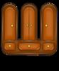 Оригинальное украшение интерьера - объемные буквы. антонимы в одноклассниках...
