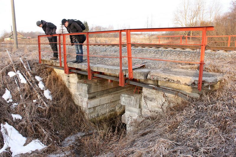 Изучаем мост через ручей