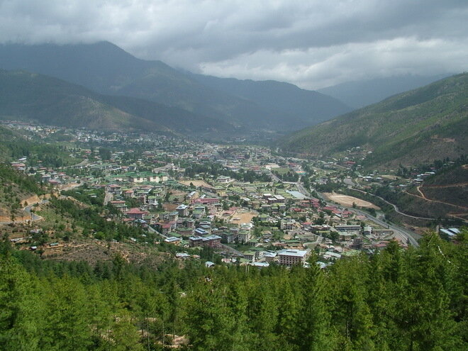 Тхимпху – столица Бутана