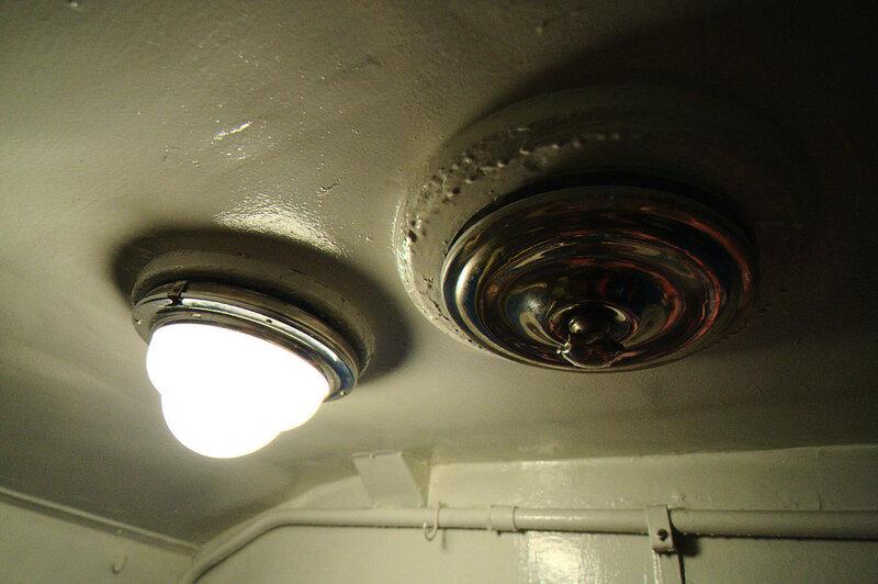 Лампа в кабине