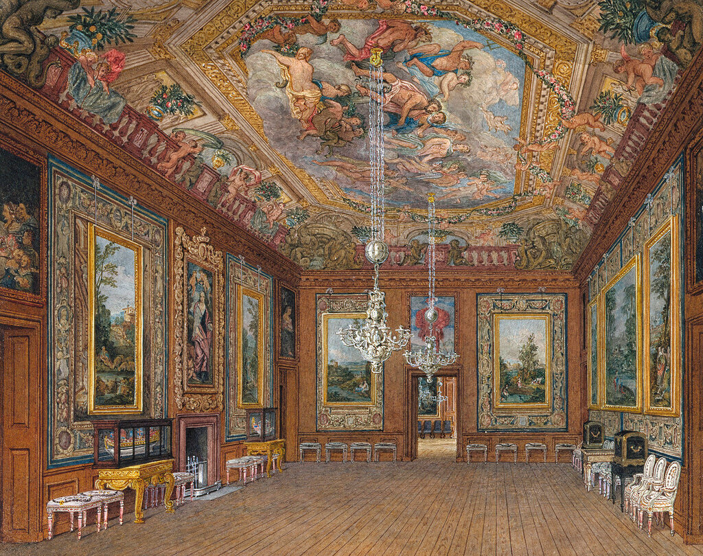 Виндзорский замок: королевы гостиной