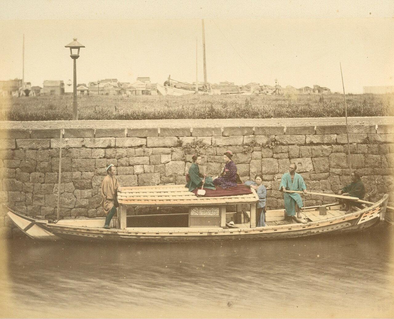 Прогулочная лодка. 1875