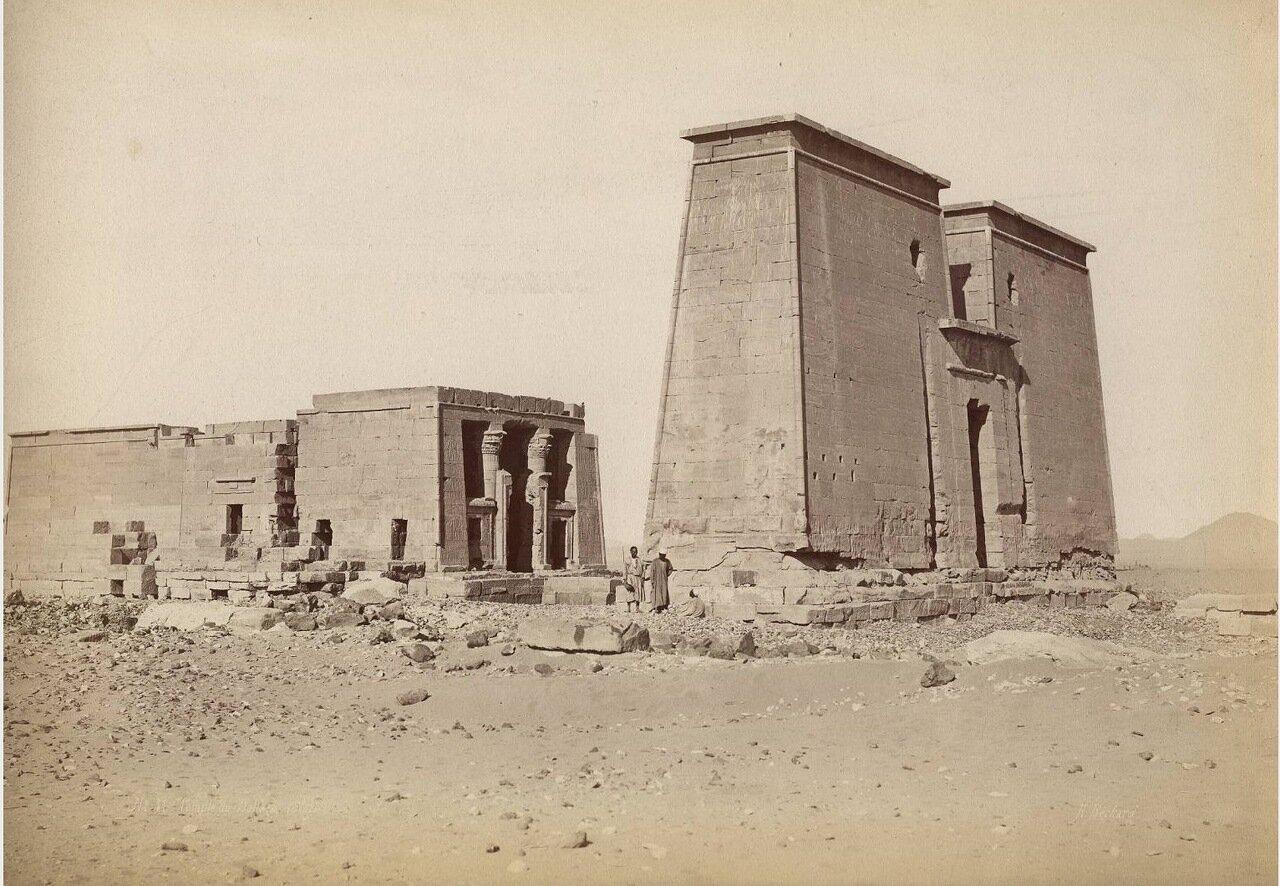 Абу-Симбел. Храм Декка