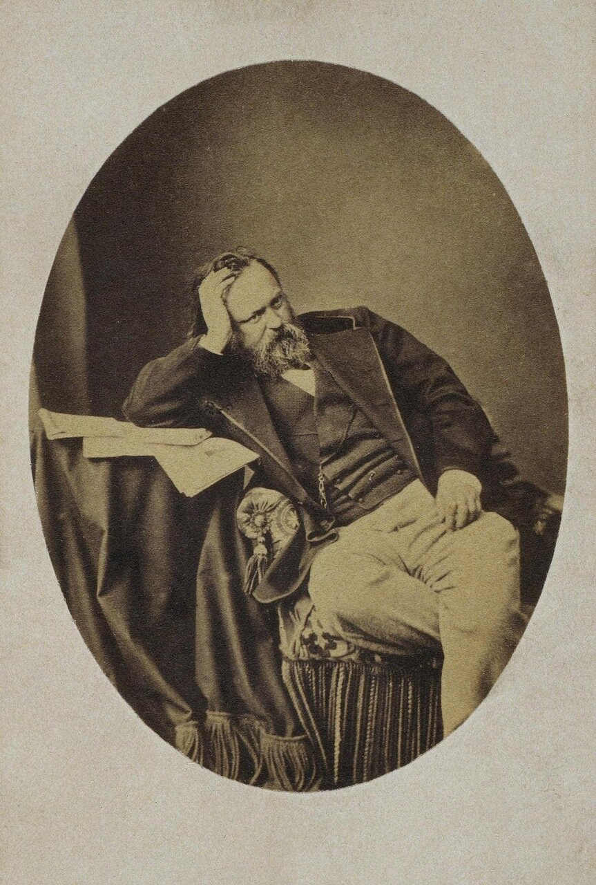 Портрет Александра Ивановича Герцена. 1871