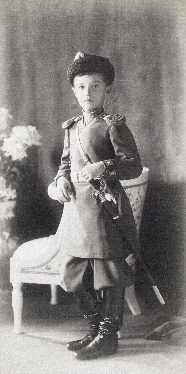 Портрет великого князя Алексея Николаевича