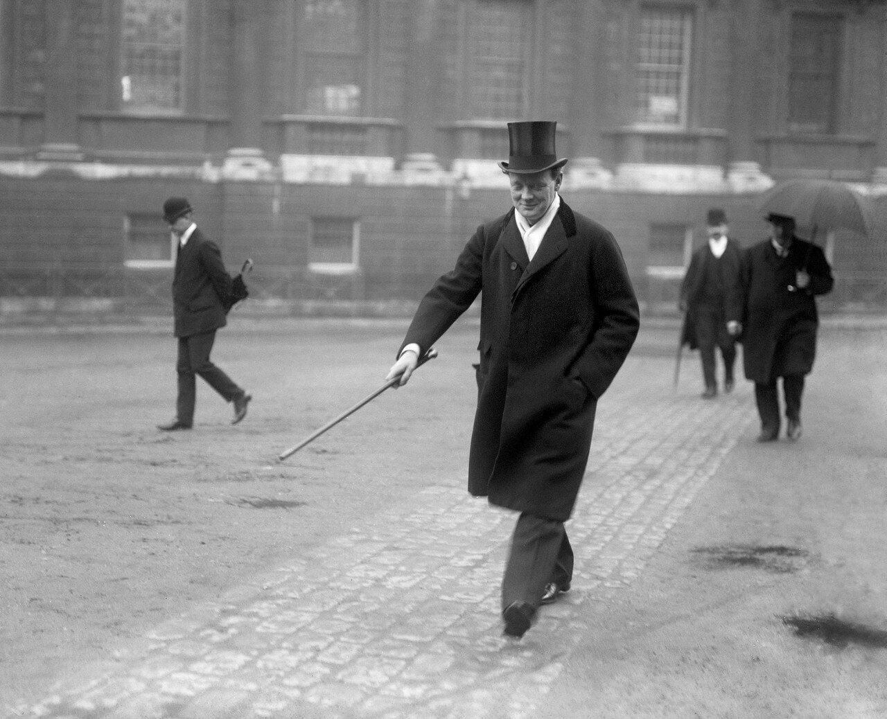 1911. Уинстон Черчилль, министр внутренних дел
